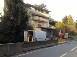 Case delocalizzate a Malpensa, pronti per la demolizione (inserita in galleria)