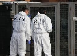 Delitto di Venegono, i Ris al lavoro (inserita in galleria)