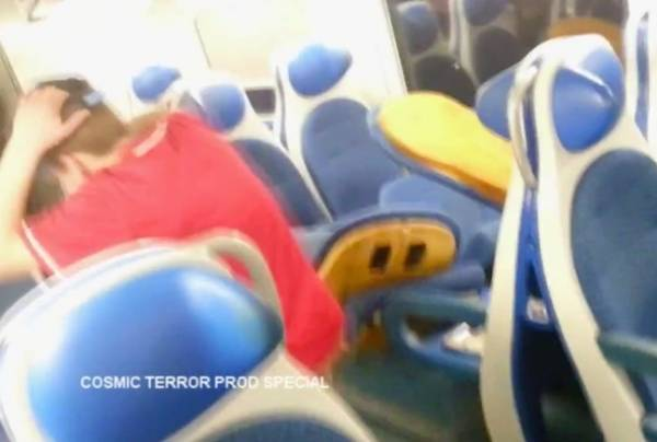 Devastano un treno, ripresi da un video (inserita in galleria)