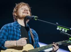 Ed Sheeran in concerto al Mediolanum Forum  (inserita in galleria)