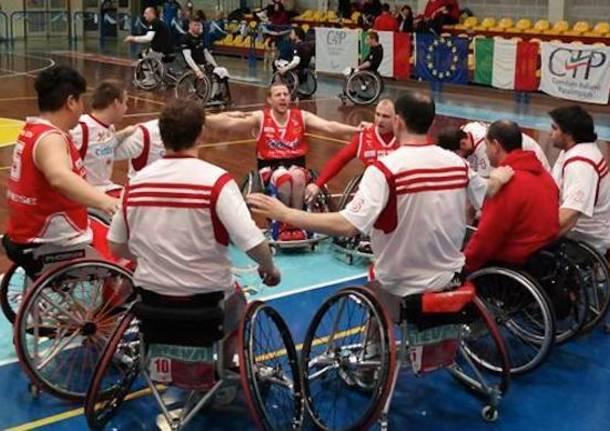 handicap sport cimberio varese basket in carrozzina 2015