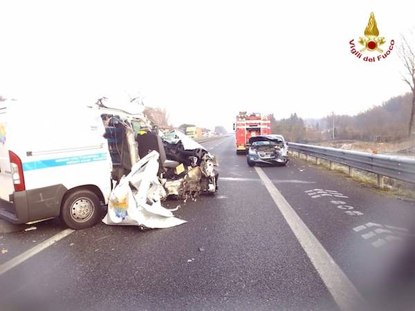 incidente a8 gennaio 2015 solbiate arno