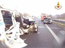 incidente a8 gennaio 2015 solbiate arno