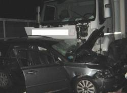 Incidente in A8, le foto dei mezzi (inserita in galleria)