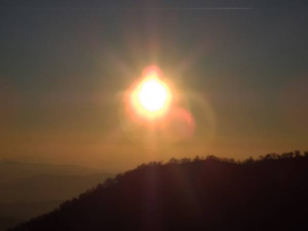 L'alba al Poncione (inserita in galleria)