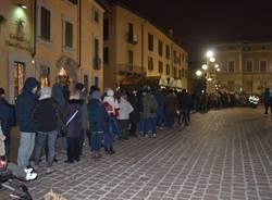 La cena in piazza della Giobia (inserita in galleria)