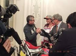 La Dakar a Varese (inserita in galleria)