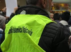 La manifestazione per la pace della comunità islamica (inserita in galleria)