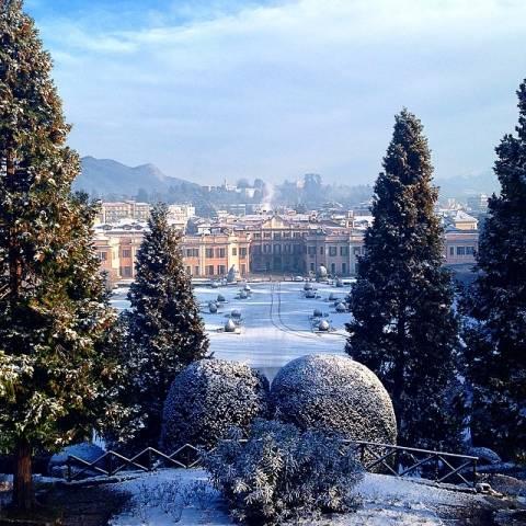 La neve conquista Intagram (inserita in galleria)