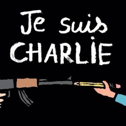 La vignette dopo la strage di Charlie Hebdo (inserita in galleria)