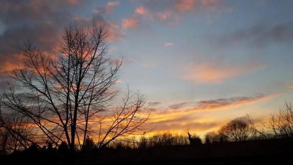 Lo spettacolo del tramonto (inserita in galleria)