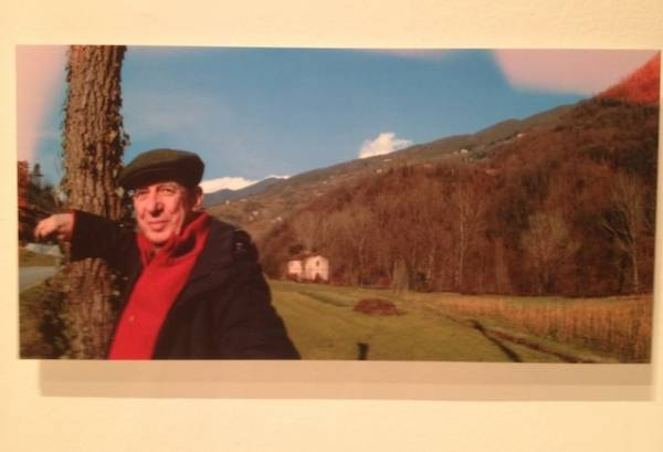 Luigi Veronelli in mostra alla Triennale di Milano (inserita in galleria)