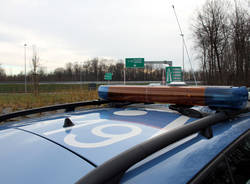 polizia stradale a36 pedemontana