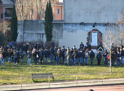 Studenti in marcia a Busto Arsizio (inserita in galleria)