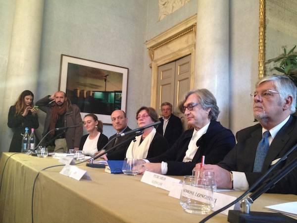 """Wim Wenders a Villa Panza per presentare """"America""""  (inserita in galleria)"""