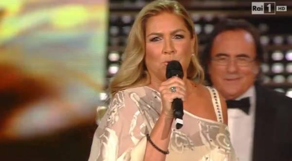 Albano e Romina al Festival di Sanremo (inserita in galleria)