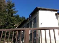 Albero cade sulla scuola elementare di Viggiù (inserita in galleria)