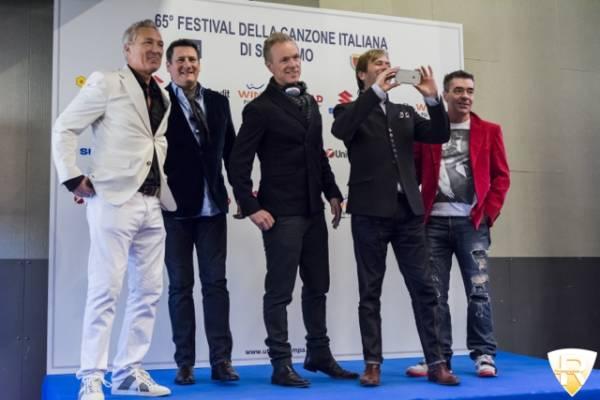 Gli Spandau Ballet al Festival di Sanremo  (inserita in galleria)
