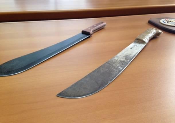 I terribili machete (inserita in galleria)