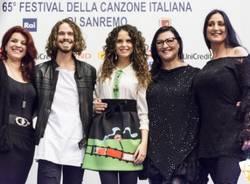 """Il cast del musical """"Romeo e Giulietta"""" al Festival di Sanremo  (inserita in galleria)"""