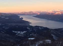 Il Monte Lema all'Alba (inserita in galleria)