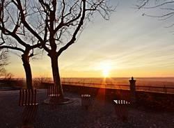 Il tramonto a Tornavento (inserita in galleria)