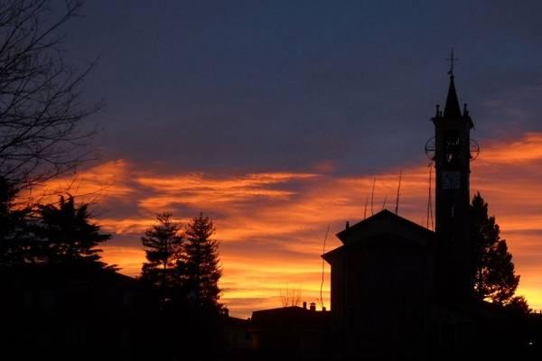 Il tramonto di febbraio (inserita in galleria)