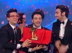 Il Volo vince il Festival di Sanremo (inserita in galleria)