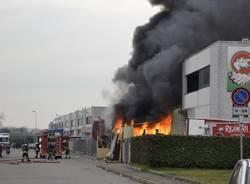 Incendio a Parabiago (inserita in galleria)