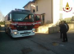Incendio in un garage a Besozzo (inserita in galleria)
