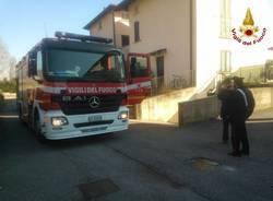 Incendio in un garage a Besozzo (inserita in galleria)