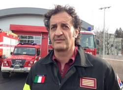 Ispra, la nuova caserma dei Vigili del fuoco (inserita in galleria)