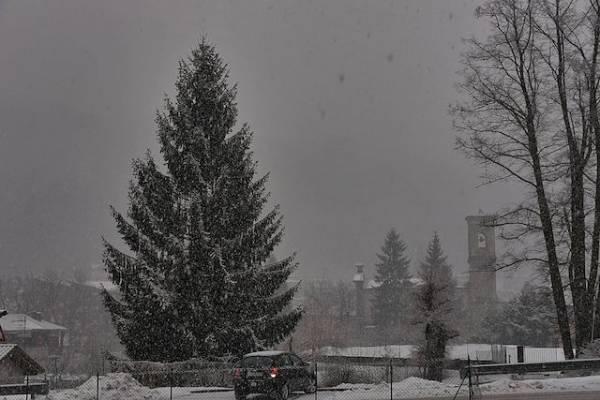 La neve del sabato Grasso (inserita in galleria)