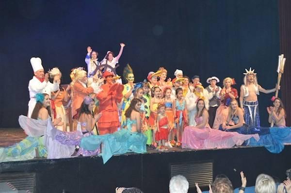 La Sirenetta in scena per il Ponte del Sorriso (inserita in galleria)