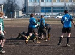 Le Amazzoni del Rugby Varese in campo a Pavia (inserita in galleria)