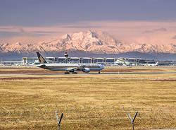 Montagne e aereo