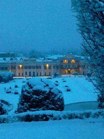 Neve ai Giardini Estensi (inserita in galleria)
