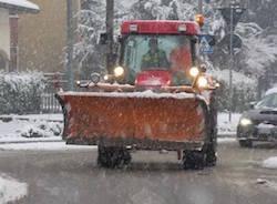 neve spalatore strada