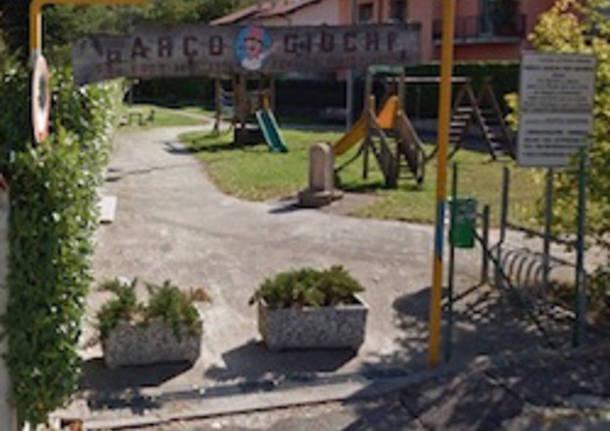 parco giochi porto ceresio