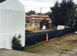 Proseguono i lavori di demolizione a Case Nuove (inserita in galleria)