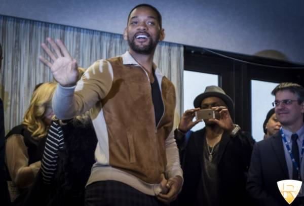 Will Smith ospite a Sanremo 2015 (inserita in galleria)