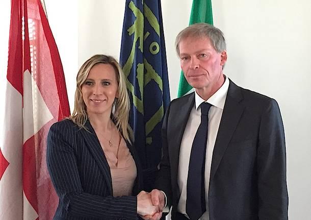 Claudio Zali e Carla Maria Terzi