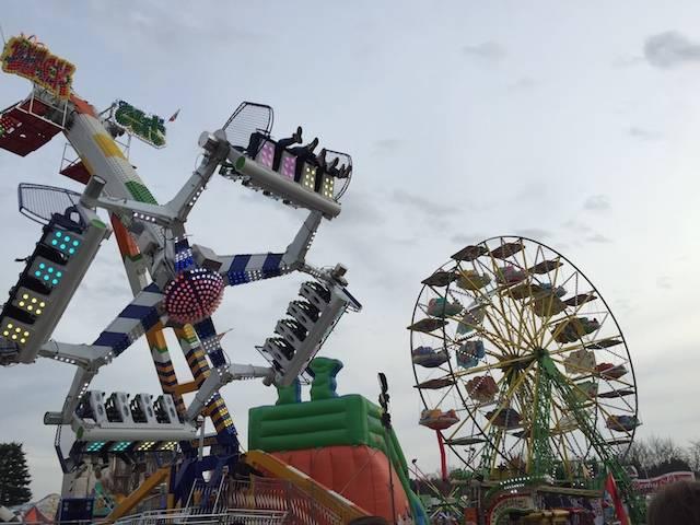 Attrazioni al Luna Park di Tradate