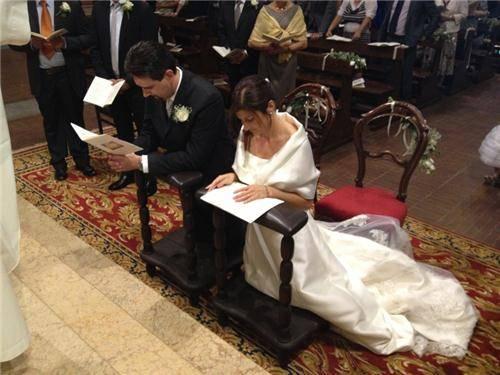 Sabrina e Damiano sposi