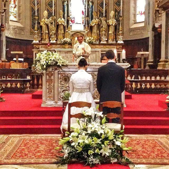 Valeria e Roberto sposi