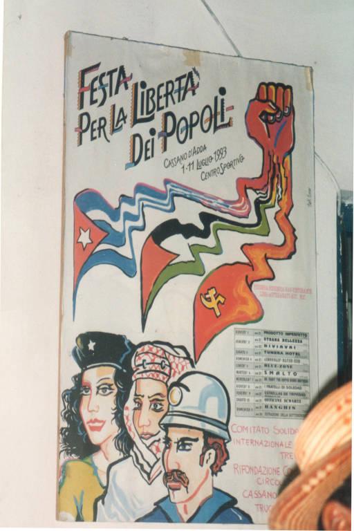 1995 FESTA DELLA GIOVENTU\' CONTRO L\'EMBARGO A CUBA