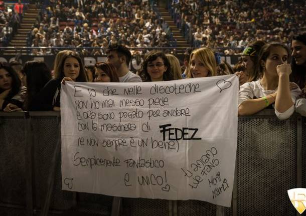 Fedez in concerto al Forum di Assago