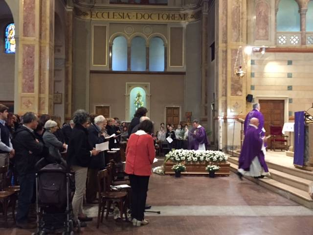 Funerale Marisa Masina in Campiotti