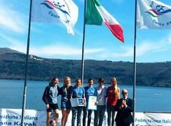 gaia piazza francesca mattiello oro kayak fondo 2015