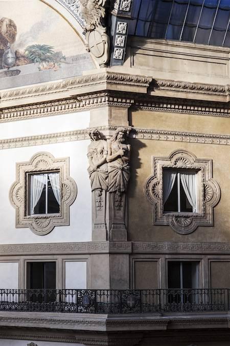 galleria milano restauro gasparoli versace prada
